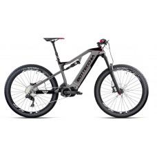 """Bottecchia Bicicletta Pedalata Assistita - BE80 Quasar E-Full Suspended Carbon 27,5"""" XT 11S Shimano 8000"""