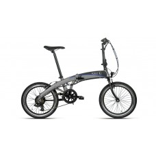 """Bottecchia Bicicletta Pedalata Assistita Pieghevole - BE08 Agile E-Bike Graziella 20"""" - Alu TX35 6S Li Ion 24V 10Ah"""