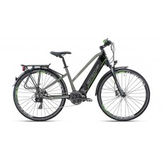 "Bottecchia Bicicletta Pedalata Assistita - BE19 E-Bike TRK Lady 28"" - TX800 8S ETR3 Middle Motor"