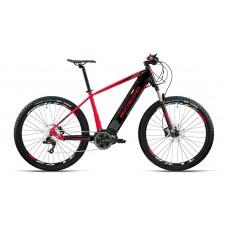 """Bottecchia Bicicletta Pedalata Assistita - BE33 Start E-MTB Front - 27,5"""" - Middle Motor - Rosso/Nero"""