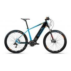 "Bottecchia Bicicletta Pedalata Assistita - BE33 Start E-MTB Front - 27,5"" - Middle Motor - Blu/Nero"