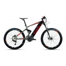 "Bottecchia Bicicletta Pedalata Assistita - BE36 Elektron E-Full Suspended - 27,5"" - Middle Motor - Arancione"