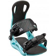 Attacchi Snowboard Volkl Straptec Initial - Col. Mint - Taglia S (36/40 EU)