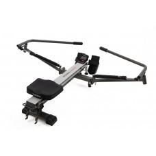 TOORX - Vogatore - Rower Master - Salvaspazio, Ricevitore Fascia Cardio Incluso