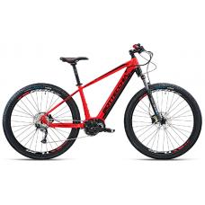 """Bottecchia Bicicletta Pedalata Assistita - BE32 Start E-MTB Front - 29"""" - Middle Motor - Rosso/Nero"""
