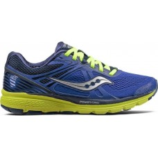 Saucony Scarpe Running Donna - Swerve (S10329-4) Blu/Giallo - Ultime 37/37,5EU
